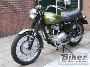 1970 Triumph Trophy 650 specifications and pictures