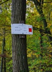 Start of historical tourist marked path