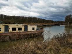 Boat junkyard Hadík