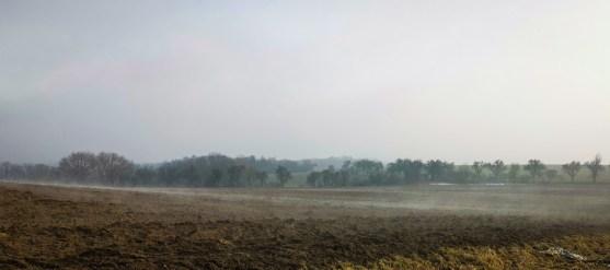 Fog is coming again