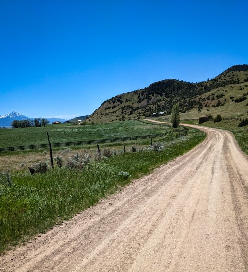 Dirt road for next 40 km