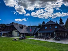 Bike rental place in Modrava