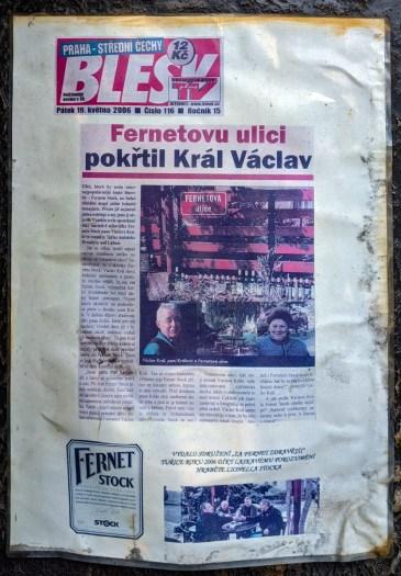 Story of Fernetova ulice