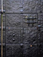 Nový hrádek - closed door
