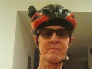 I may look like a helmet-cammed bike geek. But my glasses look good.