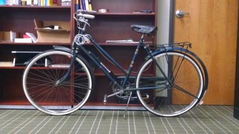 Allison's stolen bike