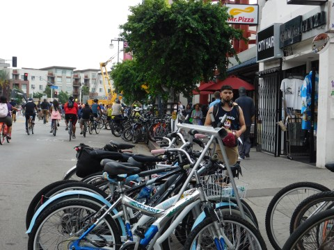 Yes, bikes are good for business