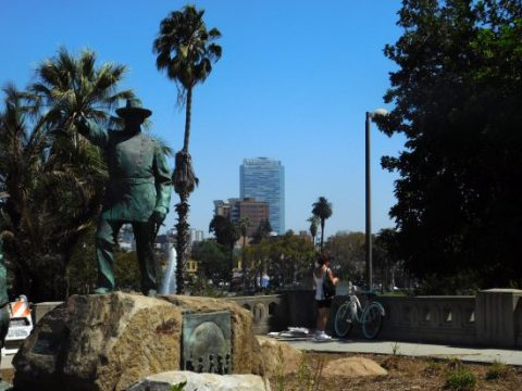 Gen. Otis, founder of the LA Times, not the namesake of MacArthur Park