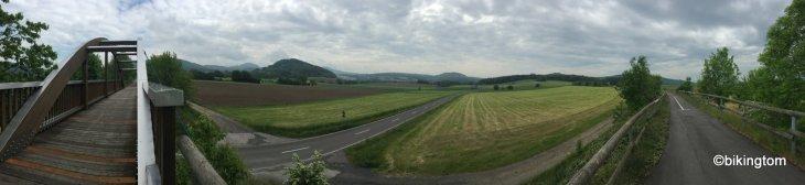 Radfahren in der Rhön bikingtom