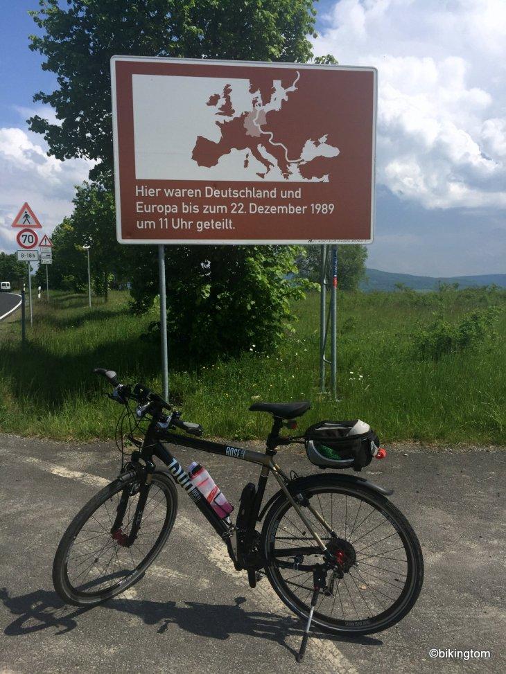 Radfahren in der Rhön Grenze bikingtom