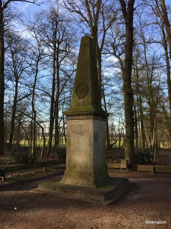 Denkmal als Andenken für die Befreiung von Napoleons im Jahre 1813.