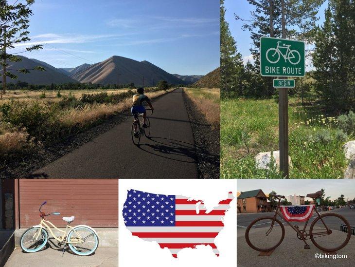 Fotos USA Amerika Radfahren bikingtom
