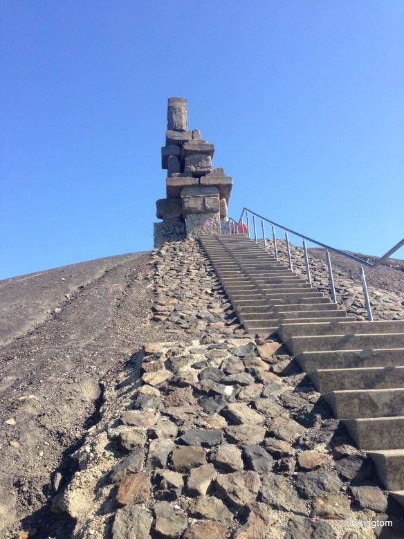 Die Himmelstreppe auf der Halde Rheinelbe