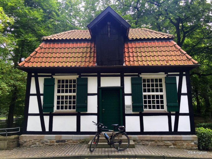 Fahrradtour bikingtom Schlossmühle Lippholthausen