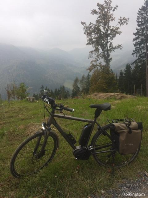 Radfahren, Steiermark, Österreich, bikingtom