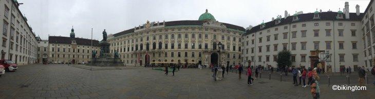 Radtour,bikingtom,Wiener Hofburg,Österreich