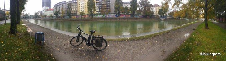 Radtour,bikingtom,Donau-Kanal,Prater,Österreich