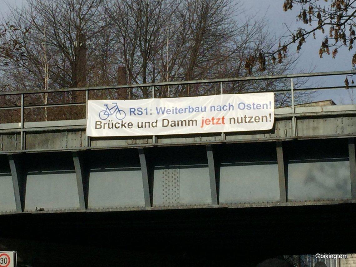 Radschnellweg Ruhr RS1 Weiterbauen