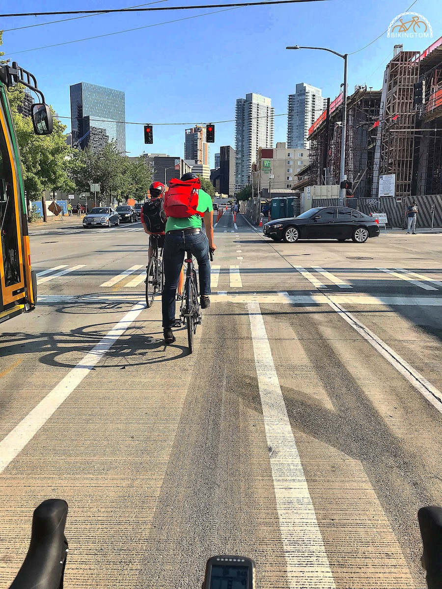 Seattle,Radfahren USA,Fahrrad
