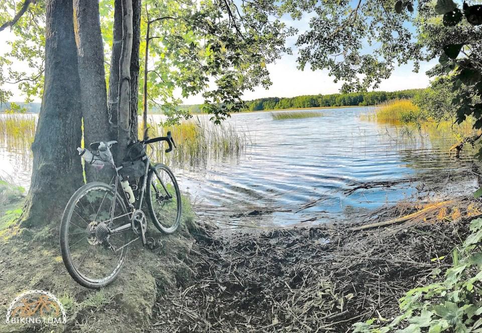 Uckermark,Brandenburg,Fahrrad,Radfahren,Lübbesee