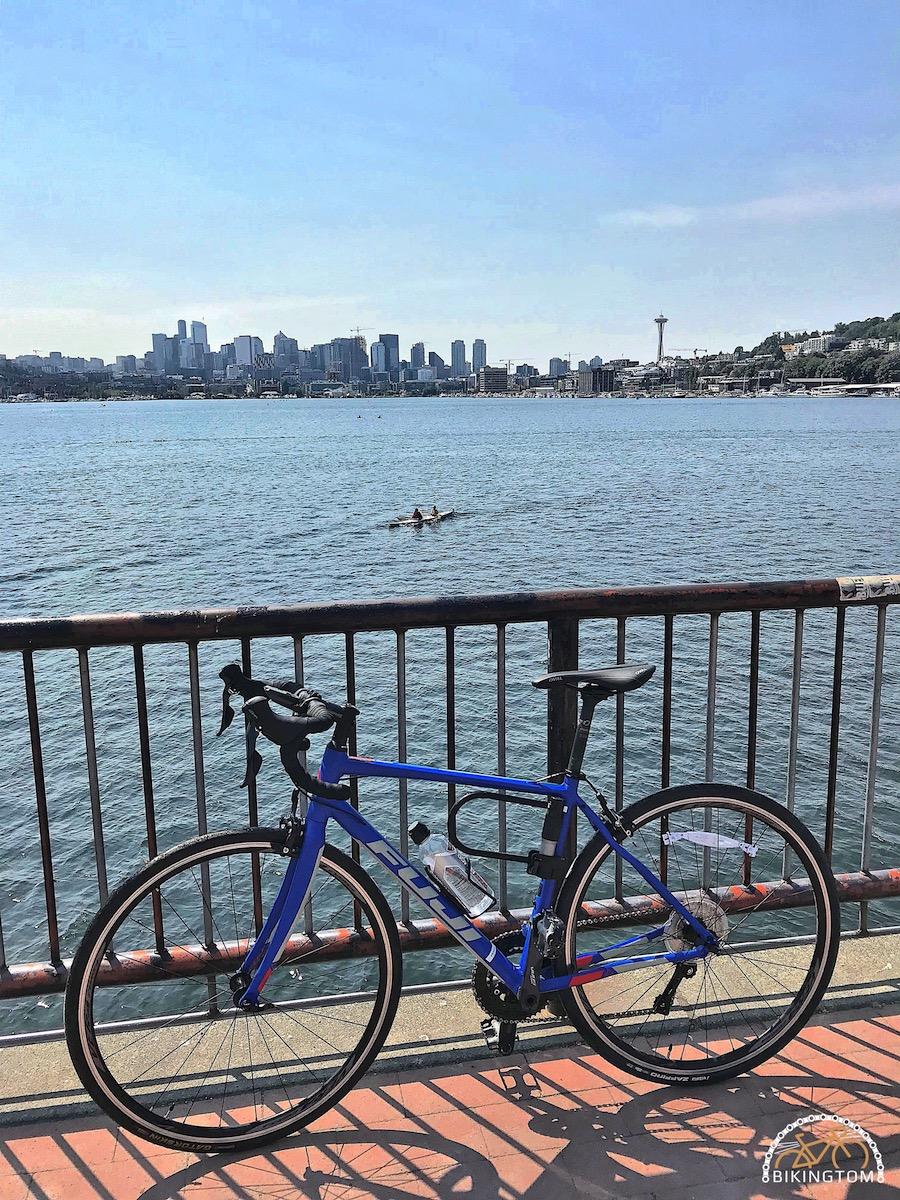 Seattle,Radfahren USA,Fahrrad,Gas Works Park