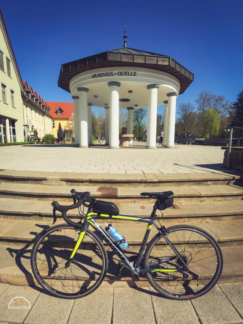 Teutoburger Wald,Rennrad,Hermannsdenkmall,RadfahrenArminiusquelle,bikingtom