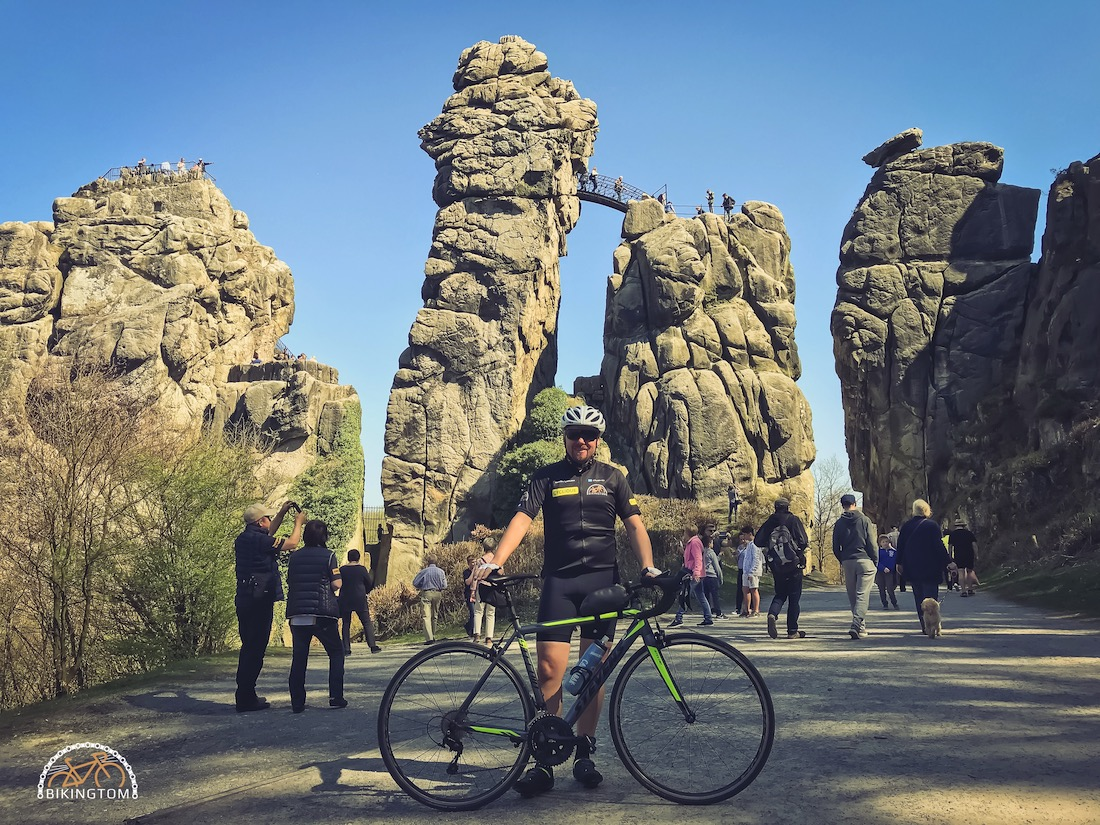Teutoburger Wald,Rennrad,Hermannsdenkaml,Radfahren,bikingtom