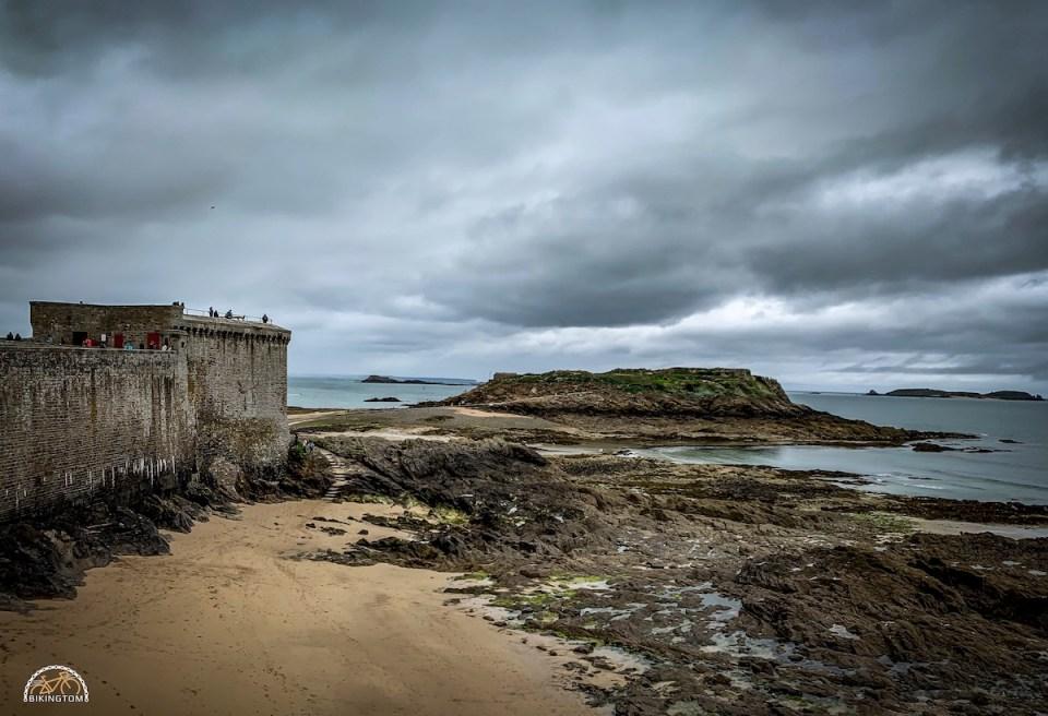 Bretagne,Radtouren,Fahrrad,Wetter,St. Malo