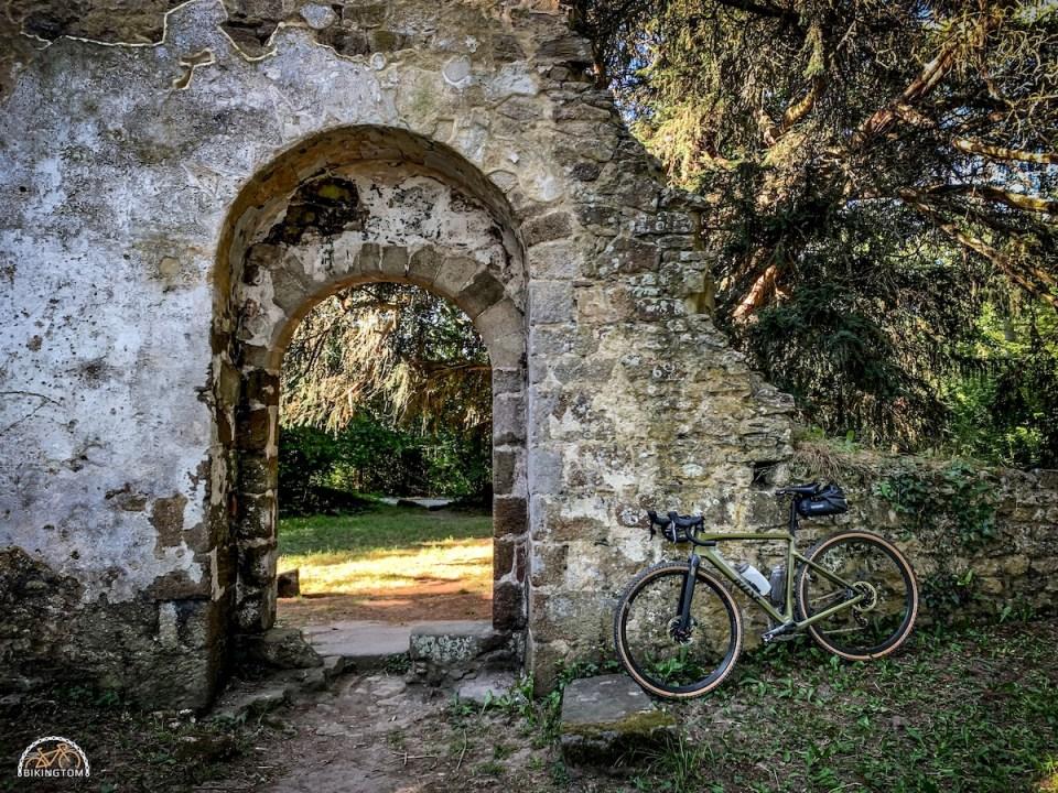 Bretagne,Radtouren,Fahrrad,Ancienne église de Saint-André des Eaux