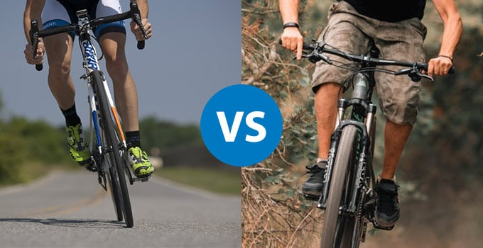 Differences Between a Mountain Bike and a Road Bike – Bikinguniverse