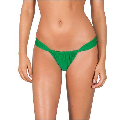 Bikini Tanga Grün, verstellbar, tief sitzend - Peterpan Sumo