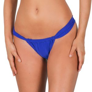 Bikini Brasilien Slip saphirblau, verstellbar - Zaffiro Sumo