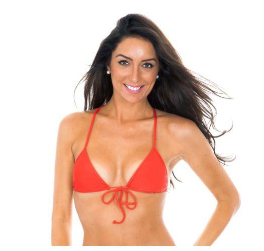Bikini Triangel Oberteil rot - Soutien Tiras Costas Red