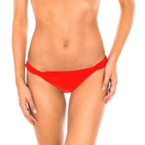 Roter Badetanga, gleitend mit niedriger Taille - Calcinha Ambra Mel Urucum