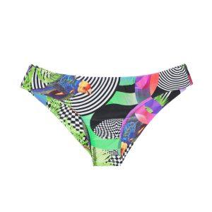 Sportlicher Bikinislip brasilianisch gemustert - Rio de Sol