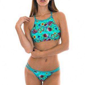 Geblühmter Bikini der serie BLOOM von Rio de Sol