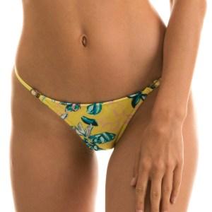 Sexy Scrunch Bikinihose - Blumenmusterung