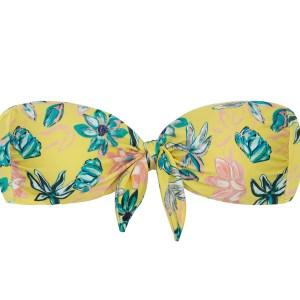 Brazil Bandeau Blumenmuster - Top Florescer Bandeau