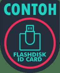 contoh flashdisk id card