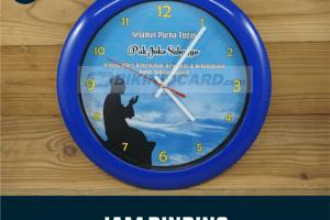 Bikin Jam Dinding Custom
