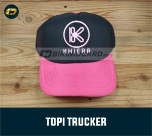 harga topi trucker custom