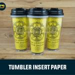 tumbler insert paper