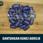 Gantungan Kunci Akrilik Custom