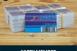 Kartu Member Barcode