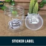 Stiker Kemasan Plastik