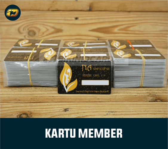 cetak id card member