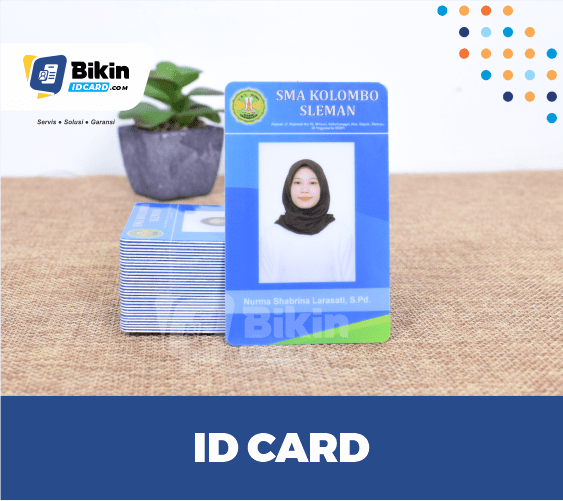 ID card panitia keren