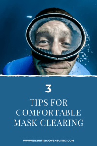 3 Tips for (more) comfortable mask clearing