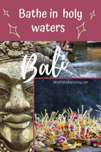 Bathe in Holy Waters in Bali