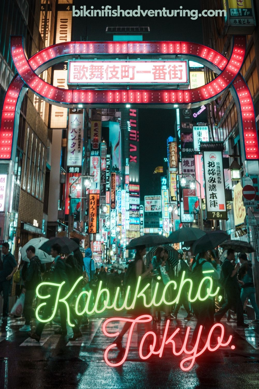 Experience the night-life in Kabukichō, Tokyo.